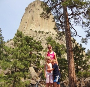 Family Time at Devil's Tower